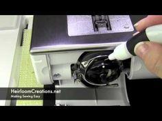 How to Clean a Bernina 830, Bernina 820 or 8 Series Sewing Machine - YouTube