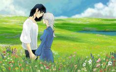 Howl and Sophie Speed Paint by TheOneiroi.deviantart.com on @deviantART
