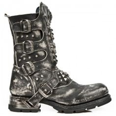 Botte en cuir M.MR019-C2 New Rock