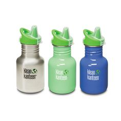 Klean Kanteen Stainless Steel Sippy Cup 12oz (355ml) from Reusables Etc