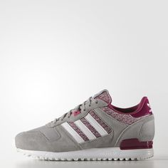 adidas ZX 700 W | Color Multi Solid Grey / Running White Ftw / Vivid Berry | $75