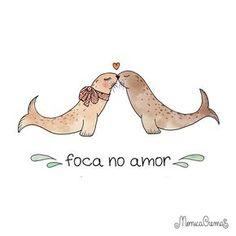 Foca no amor | Mônica Crema