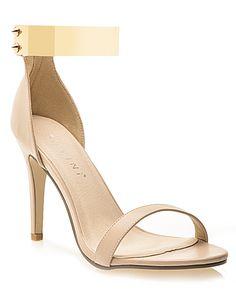 Galaxy Heels in Beige Hello Summer, Rihanna, Peep Toe, Street Style, Beige, Sandals, Counting, Heels, Shoe