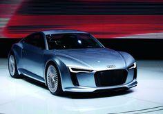 Audi blue heaven