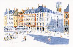 Dominique Corbasson - Looking for DC - Blog Actualités et Archives: 4 vues de Lille, Galerie Champaka