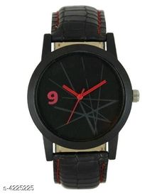 Watches Trendy Leather Men's Watches Strap Material: Leather Display Type: Analogue Size: Free Size Multipack: 1 Country of Origin: India Sizes Available: Free Size   Catalog Rating: ★4 (464)  Catalog Name: Classic Men Watches CatalogID_604109 C65-SC1232 Code: 681-4225225-423