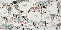 WU GUANZHONG (1919-2010) | Waterlilies | 20th Century, Paintings | Christie's