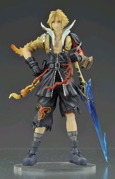 Final Fantasy Dissidia - Tidus figure (own it.)