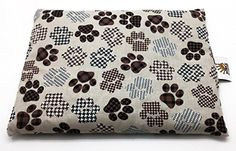 Dog Bed Pillows - Aromatherapy Pet Pillow with Essential Oils Plaid Pawprints >>> See this great product. (This is an Amazon affiliate link)