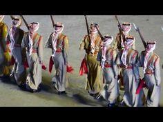 Edinburgh Military Tattoo 2016 - Act 8 - The Jordanian Royal Guard - YouTube