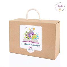 Te cuento un cuento? Box dedicada a los cuentos para que los niños aprendan a…