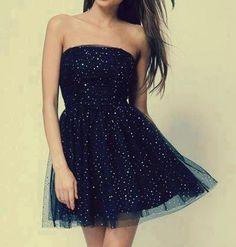 cute short love sparkly dress