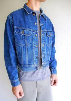 Medium Indigo Lee Denim Jacket $68.00