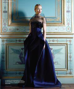 Maud Welzen photographed by Benjamin Kanarek for Harper's Bazaar Spain November 2012