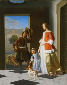 Jacob Ochtervelt, The Fishmonger, Mauritshuis, The Hague