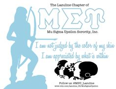 Mu Sigma Upsilon Sorority Inc: The Lazuline Chapter @ Millersville University
