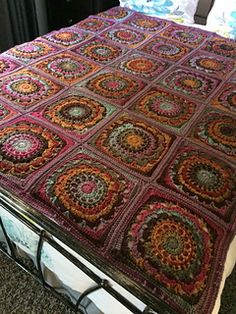 Ravelry: hookwitch's Boho Cocoa Puff Blanket
