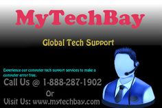 Get solution of all pc problems through our remote pc Tech Support services at: www.mytechbay.com