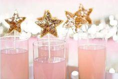 Pink Lemonade with Glittery Star
