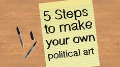For hundreds of years, artists have used their work to spread messages about important issues. Eye-catching artworks can help start a… Political Posters, Political Art, High School Art, Middle School Art, Emory Douglas, Art For Change, Appropriation Art, Wei Wei, Art Stand