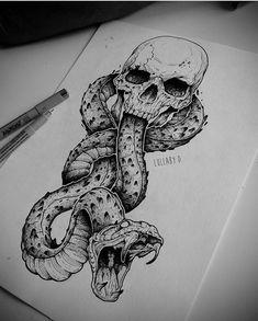 Dope Tattoos, Skull Tattoos, Tattoos For Guys, Sleeve Tattoos, Tatoos, Japan Tattoo Design, Skull Tattoo Design, Tattoo Sketches, Tattoo Drawings
