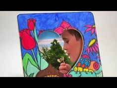 Video Tutorial: Color Your Own Spring Picture Frame