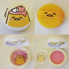 My new Holika Holika Gudetama blush  #makeup #holikaholika #gudetama