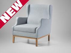 Fotel tapicerowany - Krzesło - ESLOV gołębi ten fotel mi sie bardzo podoba Armchair, Sofa, Furniture, Home Decor, Sofa Chair, Single Sofa, Settee, Decoration Home, Room Decor