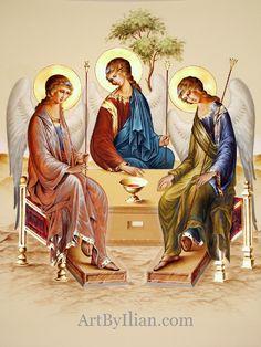 Fresco on altar wall Catholic Art, Religious Art, Roman Church, Biblical Art, Spirited Art, Web Gallery, Byzantine Icons, Art Icon, Orthodox Icons