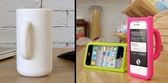 コーヒカップ型iPhoneケース「Coffee Mug iPhone Case」