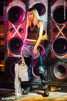 lisa, blackpink, and kpop image Kim Jennie, Jenny Kim, Blackpink Lisa, K Pop, Square Two, Blackpink Debut, Black Pink Kpop, Blackpink Photos, Pictures