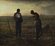 Based on : The Angelus by Jean-François Millet (1857-59). ART X SMART Project by Kim Dong-kyu, 2013.