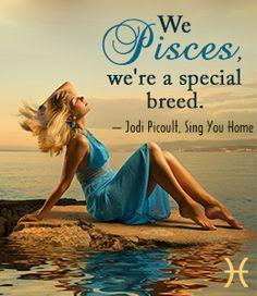 Jodi Picoult quote on Pisces Pisces Moon Sign, Star Pisces, Pisces Girl, Pisces Woman, Pisces Traits, Astrology Pisces, Pisces Zodiac, Gemini, Jodi Picoult Quotes