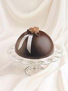 Plaza Sweets - Chocolate Velvet Boule   $40