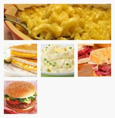 Favorite Comfort Foods