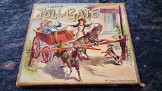 Can you imagine the squabbles? Best condition Toll Gate I have ever seen. The Most Undervalued. Vintage Board Games, Gate, Ebay, Portal
