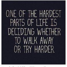 Hardest parts...