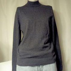 Murano Sweaters - Murano Grey Italian Wool Sweater 2