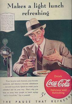 Coca Cola - Vintage Ad