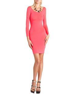 Solid Body-Con Midi Dress: Charlotte Russe