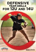 Defensive Team Softball Drills for 12U and 14U - Three-time ASA National Championship softball coach Mike Stith takes you through a live, comprehensive team defense practice that covers throwing, ground ball fielding mechanics, fly ball fielding mechanics and throwing to bases from all positions.