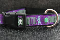 Foolish Mortal Dog Collar heavy-duty nylon adjustable M-XL