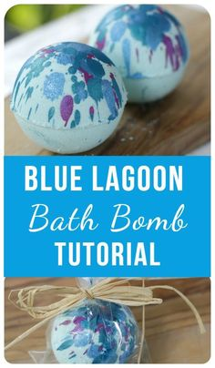 This easy DIY bath bomb recipe will transform your bath tub into an exotic paradise. These pretty bath bombs are also great as homemade gifts. DIY bath bombs How to Make Blue Lagoon Bath Bombs - Tweak and Tinker Lush Bath, Bath Tub, Diy Bathtub, Homemade Gifts, Diy Gifts, Homemade Recipe, Bath Boms Diy, Homemade Bath Bombs, Diy Bath Bombs