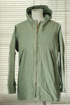 Vintage British Made Hiking Parka