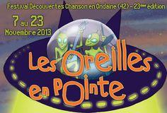 Festival les oreilles en pointe. Du 7 au 23 novembre 2013 à Saint Etienne.