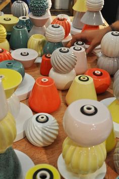 London Design Festival | DesignJunction | David Soder | Compose your own candle holder | Photo by Craftscurator