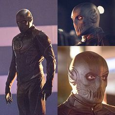 Here is the 1st LOOK !!! at Zoom the new villain from the TV show The Flash, can't wait to see him in Action !!!