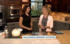 Halloween Sensory Activities on Fox 13's The Place   ilslearningcorner...
