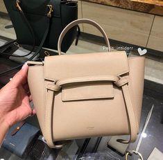 Celine Belt Bag Mini, Celine Trapeze Bag, Celine Bag, Small Leather Goods, Leather Bags, Leather Purses, Nude Bags, Slg, Beautiful Bags