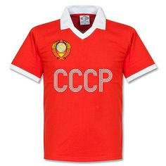 Camiseta Retro de la CCCP 1970's Local (URSS) Football Tops, Retro Football, Football Jerseys, Uk Football, Retro Shirts, Vintage Shirts, Shirt Price, Sports Shirts, How To Look Better